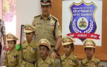 Bengaluru: Five kids take charge as city's top cop for a day!