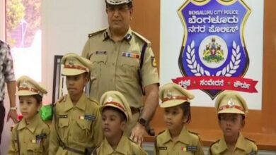 Photo of Bengaluru: Five kids take charge as city's top cop for a day!