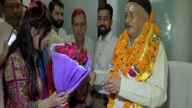 Photo of Bhagat Singh Koshyari on becoming Governor of Maharashtra