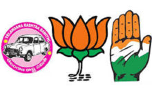 Merger of Hyd in Indian Union: BJP, Congress and TRS hoist flags