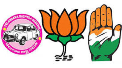 Photo of Merger of Hyd in Indian Union: BJP, Congress and TRS hoist flags