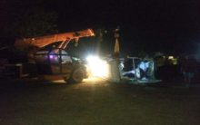 One died, three injured after vehicles collide in Ahmednagar