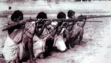 Women trained to fight against Razakar movement