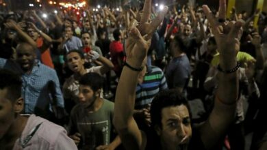 Photo of Protesters demand resignation of Egyptian President el-Sisi