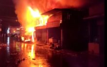 West Bengal: 12 shops gutted in fire in Siliguri