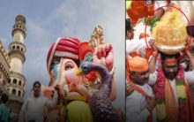 Hyderabad Ganesh Procession begins from Balapur