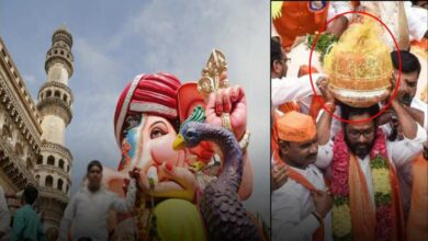Photo of Hyderabad Ganesh Procession begins from Balapur