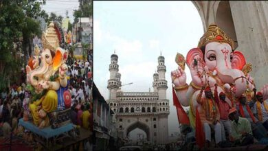 Photo of Hyderabad: Ganesh procession goes off peacefully in Old city