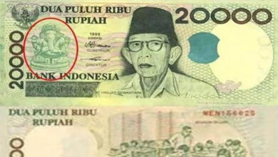 Photo of Indonesian currency carries Lord Ganesha photo