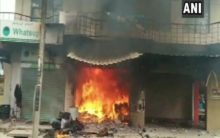 K'taka: Two injured in a gas cylinder explosion in Bengaluru