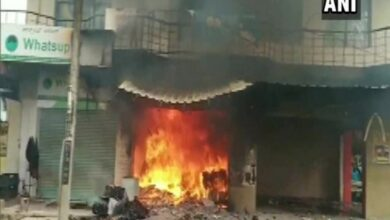 Photo of K'taka: Two injured in a gas cylinder explosion in Bengaluru