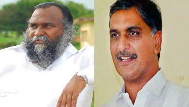 Photo of 'Past enemy turns friend': Jagga Reddy meets Harish Rao