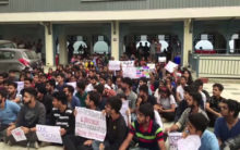 Himachal Pradesh: Law students protest enters day 3