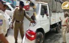 Who can check vehicles, constable or officer?