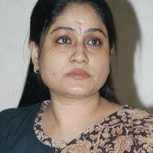 Photo of Are people's lives inferior to that of CM's pet dog?: Vijayashanti