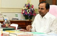 KCR bids farewell to Narasimhan with a heavy heart