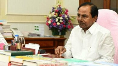 Photo of KCR bids farewell to Narasimhan with a heavy heart