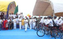 Kishan Reddy flags off of Cycle Rally organized
