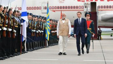Photo of PM Modi arrives in Russia on three-day visit