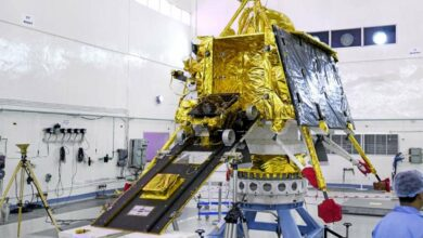 Photo of India's moon lander Vikram all set to land on the Moon