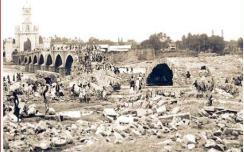 Hyderabad: Musi flood of 1908 remembered after 111 years