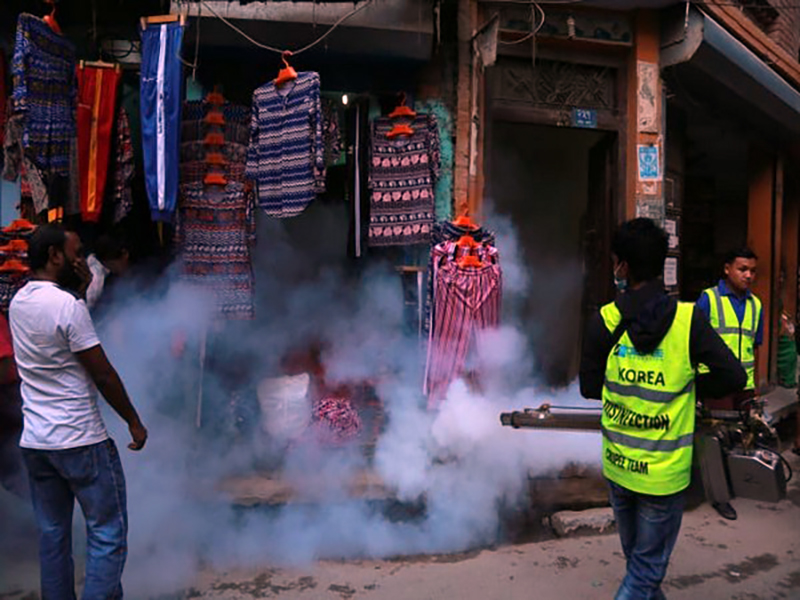 Nepal dengue outbreak: 6 killed, over 5000 cases reported