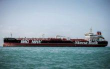 British oil tanker seized by Iran reaches Dubai port
