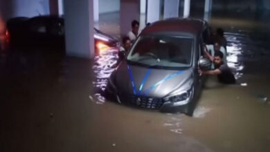 Photo of Hyd: 200 houses submerged in water after drain wall collapsed