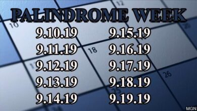 Photo of Palindrome Week: For next 10 days, every day reads the same