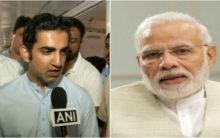 Gambhir wishes Modi on his birthday