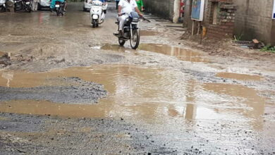 Photo of Pot-holed roads in city to be repaired in a couple of  days