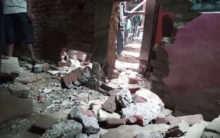 UP: Explosion in a cracker manufacturer's house