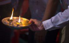 Saints wearing robes inside temple committing rape: Ex CM