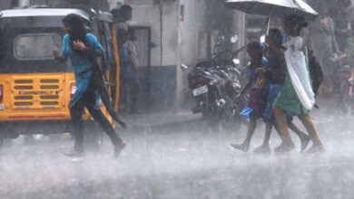 Photo of Heavy rainfall in Hyderabad on Monday