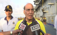Navy ready to defend nation against all threats: Rajnath