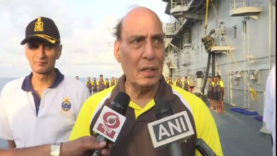 Photo of Navy ready to defend nation against all threats: Rajnath
