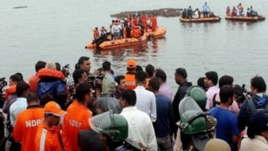 Photo of AP: 12 killed as tourist boat capsizes in Godavari river