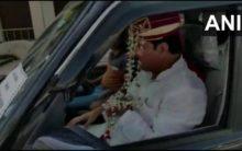 SP leader adopts unique idea to dodge cops