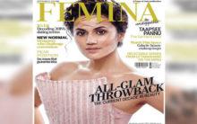 Taapsee Pannu channels Greek goddess look as Femina cover girl