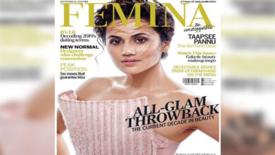 Photo of Taapsee Pannu channels Greek goddess look as Femina cover girl