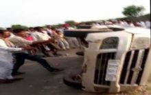 Rajasthan: Men thrashed by mob after accident