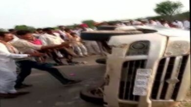 Photo of Rajasthan: Men thrashed by mob after accident