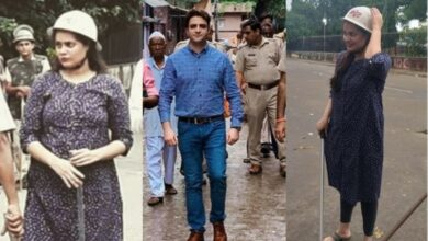 Photo of Muharram: IAS topper Tina Dabi hits streets in 'combat role'