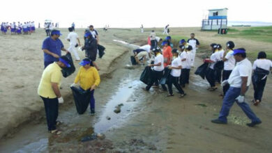 Photo of K'taka: Indian Coast Guard conducts beach cleaning campaign