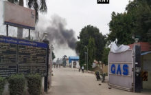UP: Gas tank explodes in Unnao