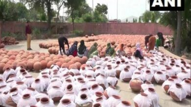 Photo of Rohtak: 4000 earthen pots arranged for water ahead of PM's visit