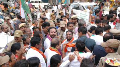 Photo of Kishan Reddy Launches 'Gandhi Sankalp' Yatra