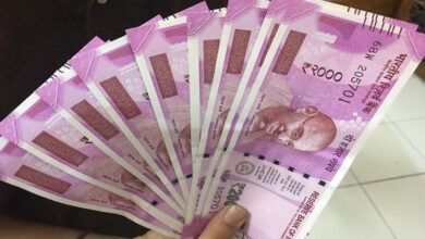 Photo of Rs 1.33 crore illegal cash seized in Gurugram