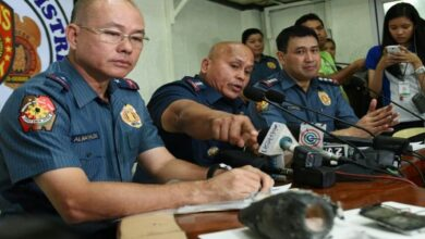 Photo of Philippine police recommend drug charges against ex-chief