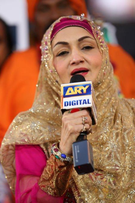 Eighteen years later, singer Shazia Khushk still enthrals
